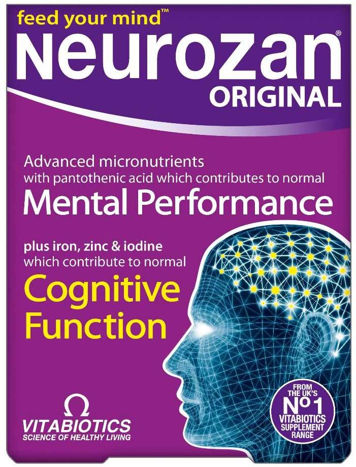 Vitabiotics Neurozan Original, 30 Ταμπλέτες