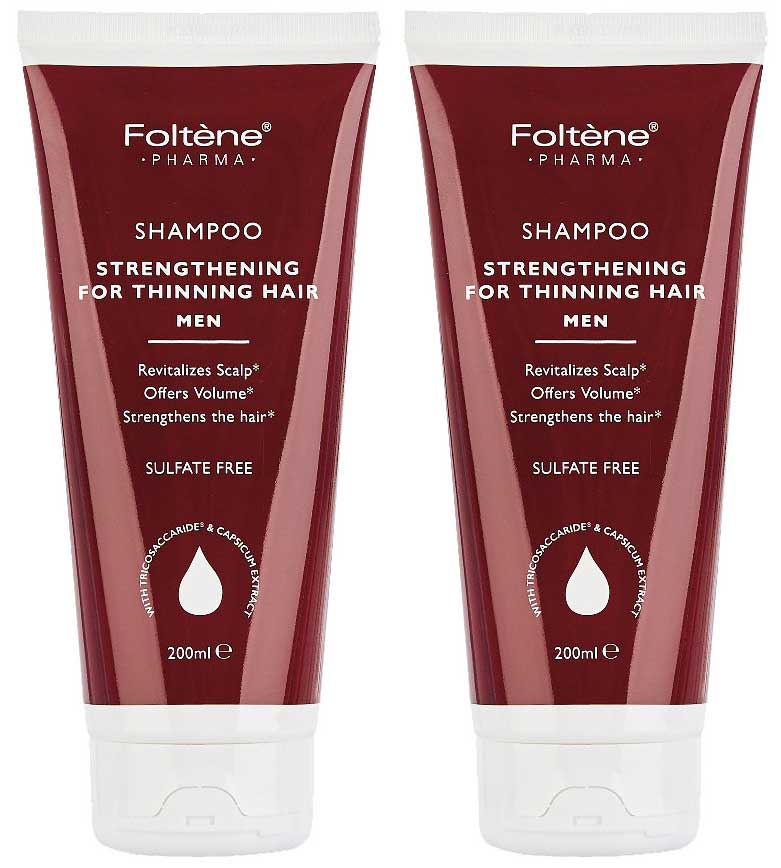 Foltene Shampoo Strengthening For Thinning Hair Men, 200ml