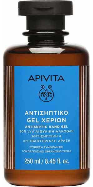 Apivita Αντισηπτικό Χεριών 80% Αιθυλική Αλκοόλη,  250ml
