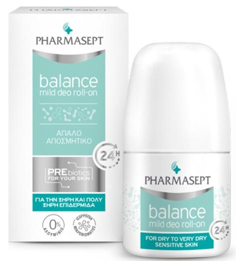 Pharmasept Balance Mild Deo Roll-On, 50ml