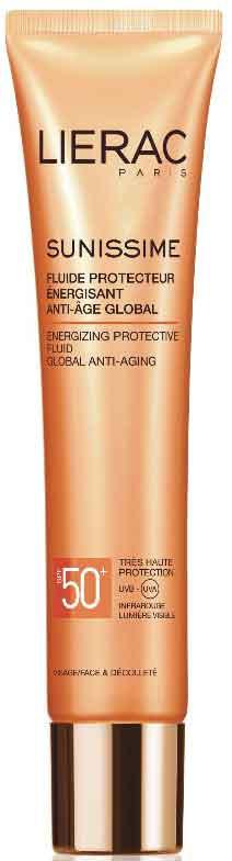 Lierac Sunissime Fluide Protecteur Energisant Anti-Age Global SPF50, 40ml