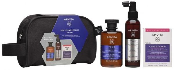 Apivita Rescue Hair Loss Kit For Men
