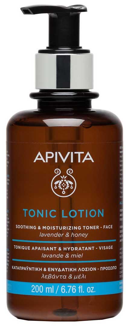 Apivita Tonic Lotion Soothing & Moisturizing Toner Mε Μέλι & Λεβάντα, 200ml