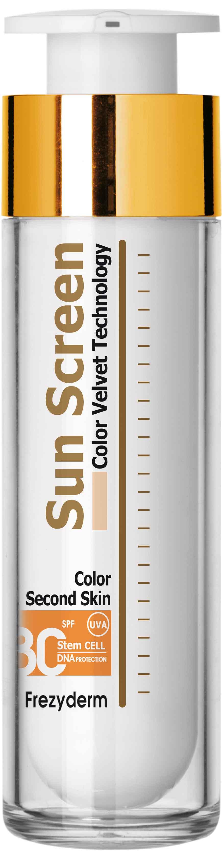 Frezyderm Sun Screen Color Velvet Face Cream SPF30, 50ml