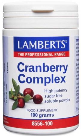 Lamberts Cranberry Complex Powder, 100gr Σκόνη