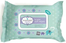 Pharmasept Baby Soft WIpes, 30 Τεμάχια