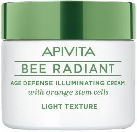 Apivita Bee Radiant Kρέμα Ελαφριάς Υφής, 50ml