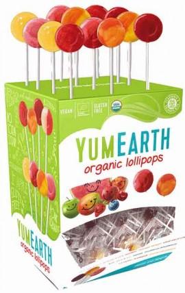 YumEarth Βιολογικά Γλειφιτζούρια Φρούτων, 1 Τεμάχιο