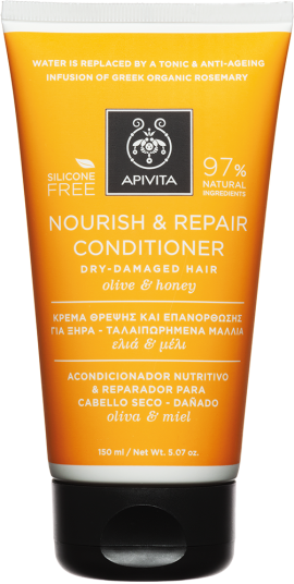 Apivita Nourish & Repair Conditioner Με Ελιά & Μέλι,150ml