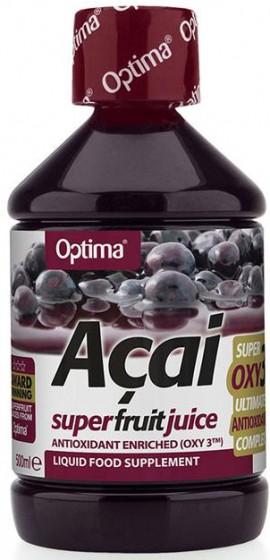 Optima Acai Juice With OXY3™, 500ml