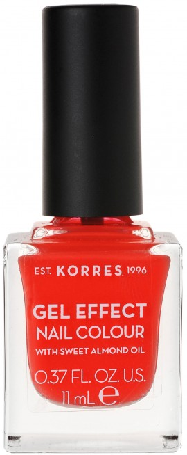 Korres Gel Effect Nail Color 45 Coral, 11ml