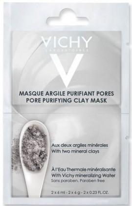 Vichy Μάσκα Αργίλου, 2x 6ml