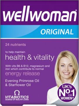 Vitabiotics Wellwoman Original, 30 Ταμπλέτες