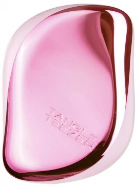 Tangle Teezer Compact Styler Baby Doll Pink Chrome, 1 Τεμάχιο