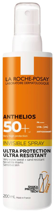 La Roche Posay Set Anthelios Invisible Spray SPF50+,  200ml