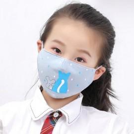 Παδική Βαμβακερή Μάσκα Με Ρυθμιζόμενο Λαστιχάκι Βρόχη, 1 Τεμάχιο