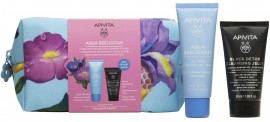 Apivita Promo Aqua Beelicious Oil- Free Hydrating Gel- Cream 40ml & Δώρο Apita Black Detox Cleansing Gel 50ml