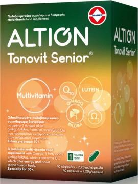 Altion Tonovit Senior, 40 Μαλακές Κάψουλες