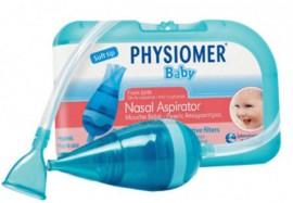 Physiomer Baby Aspirator 1 Τεμάχιο + 5 Προστατευτικά Φίλτρα