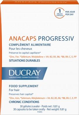 Ducray Anacaps Progressiv, 30 Κάψουλες