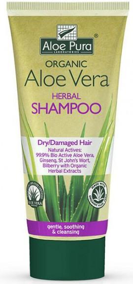 Optima Aloe Vera Herbal Shampoo Dry Hair, 200ml
