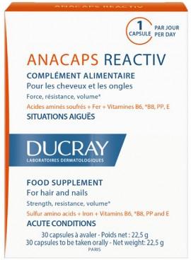 Ducray Anacaps Reactiv, 30 Kάψουλες
