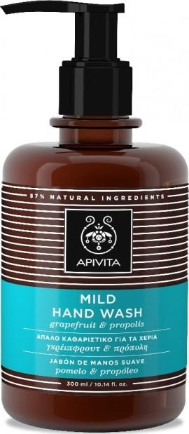 Apivita Hand Wash Με Γκρέιπφρουτ & Πρόπολη, 300ml