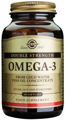Solgar Double Strength Omega-3 700mg, 60 Κάψουλες