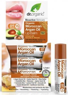 Dr. Organic Moroccan Argan Oil Lipbalm, 5.7ml
