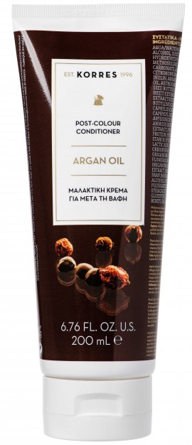 Korres Post- Colour Conditioner Argan Oil, 200ml