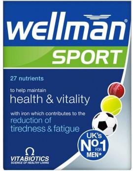 Vitabiotics Wellman Sport, 30 Ταμπλέτες