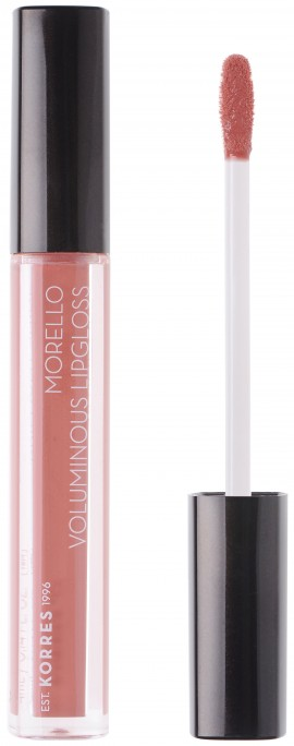 Korres Morello Voluminous Lipgloss 04 Honey Nude, 4ml