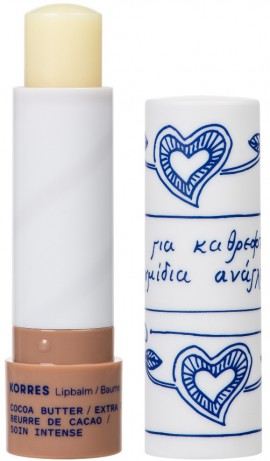 Korres Lip Balm Βούτυρο Κακάο Για Εντατική Φροντίδα, 4.5gr