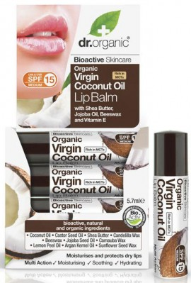 Dr. Organic Coconut Oil Lipbalm, 5.7ml