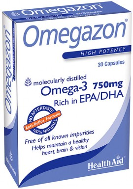 Health Aid Omegazon, 60 Κάψουλες