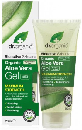 Dr. Organic Aloe Vera Gel Maximum Strength, 200ml