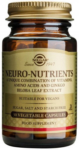 Solgar Neuro Nutrients, 30 Κάψουλες