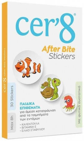 Vican Cer8 After Bite Stickers, 30 Τεμάχια