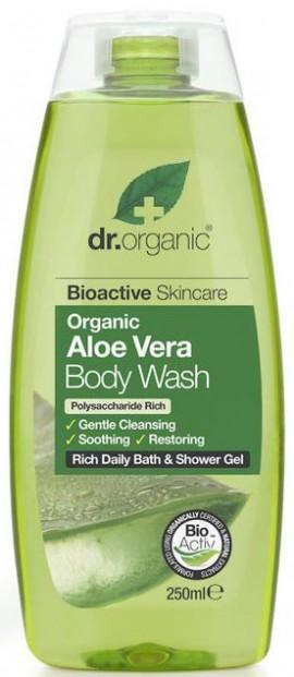 Dr. Organic Aloe Vera Body Wash, 250ml