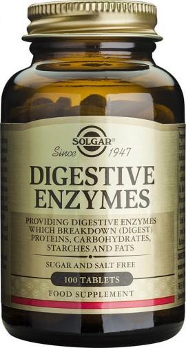 Solgar Digestive Enzyme, 100 Ταμπλέτες