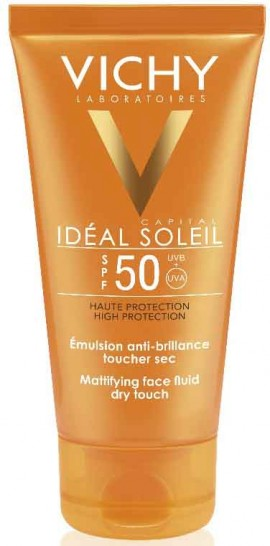 Vichy Ideal Soleil Mattifying Face Fluid Dry Touch SPF50, 50ml