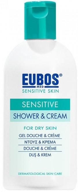 Eubos Sensitive Shower & Cream, 200ml