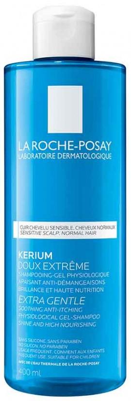 La Roche- Posay Kerium Extra Gentle Gel- Shampoo, 400ml