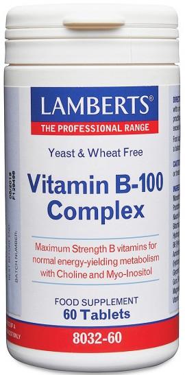 Lamberts B 100 Complex, 60 Ταμπλέτες