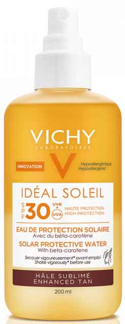 Vichy Ideal Soleil Protective Solar Water Enhanced Tan SPF30, 200ml