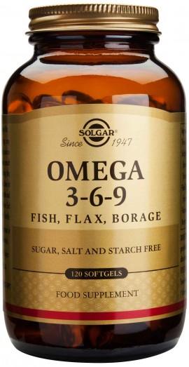 Solgar Omega 3-6-9, 120 Κάψουλες