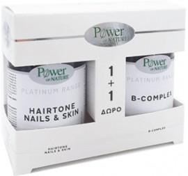 Power Health Hairtone Νails & Skin 30 Ταμπλέτες & Δώρο B-Complex 20 Ταμπλέτες