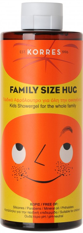 Korres Family Size Hug Kids Showergel, 200ml