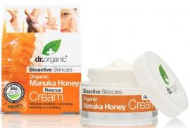 Dr. Organic Manuka Honey Rescue Cream, 50ml