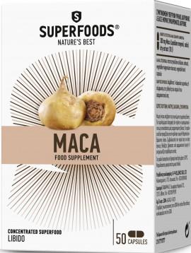 Superfoods Maca, 50 Κάψουλες